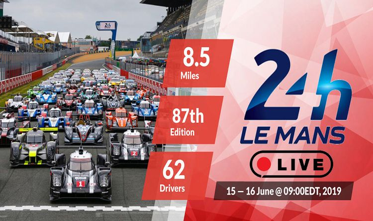 24 Hours of Le Mans 2019 Live