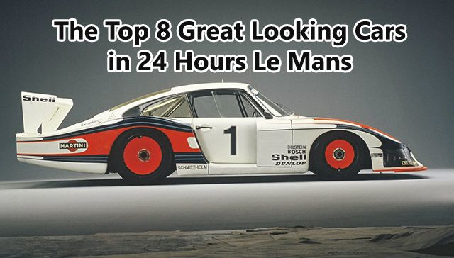 Great Looking Cars in 24 Hours Le Mans